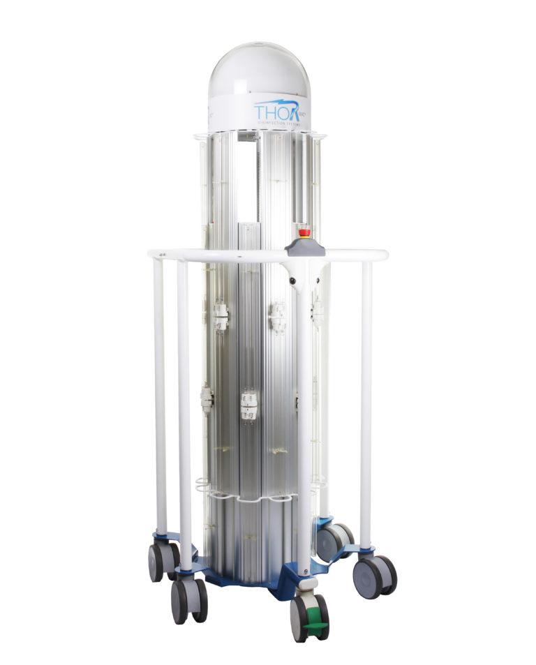 THOR UVC® - Unita colonna parzialmente estesa (lampade spente)